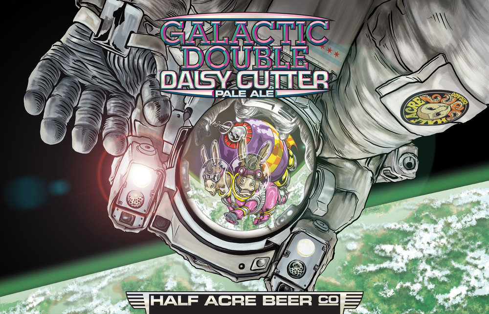 Galactic Double Daisy Cutter 2016 Bomber Label