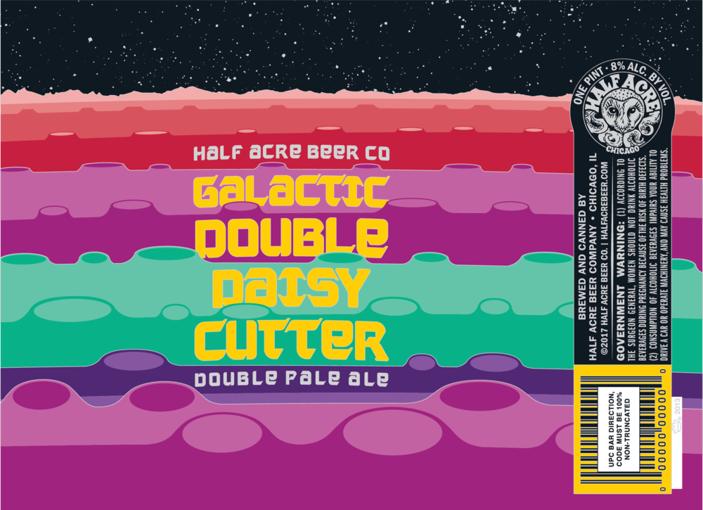 Galactic Double Daisy Cutter 2017 Can Flat