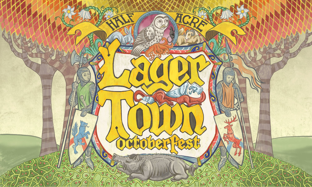 Lager Town 2016 Bomber Label