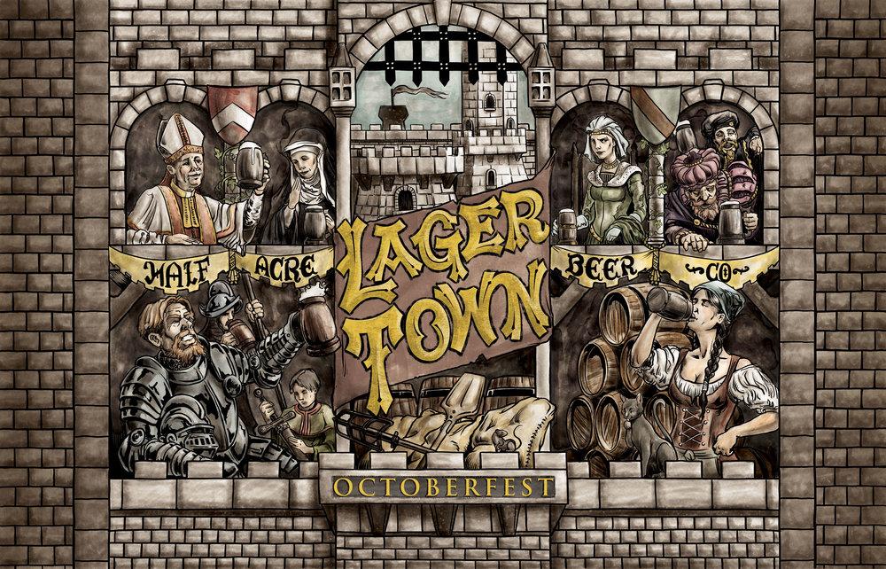Lager Town 2014 Bomber Label Variant