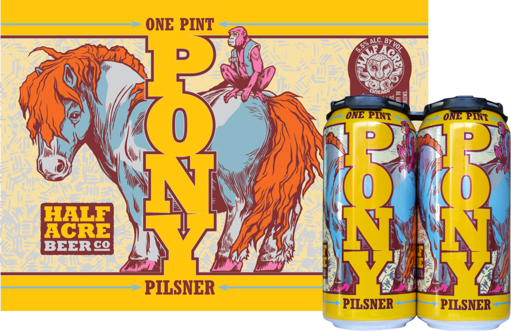 Pony 2017 Can Flat and Quadpack