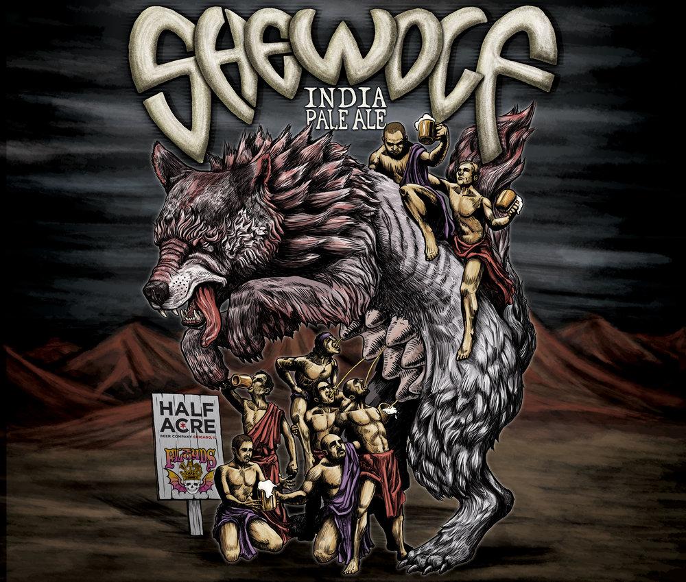 SheWolf 2011 Bomber Label