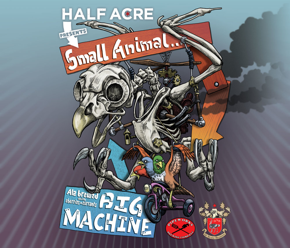 Small Animal Big Machine 2011 Bomber Label