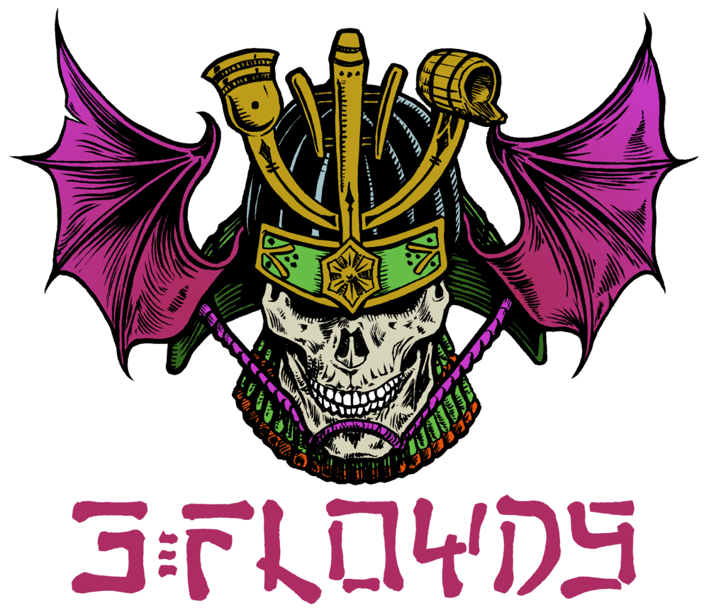 Samurai Style 3 Floyds Logo