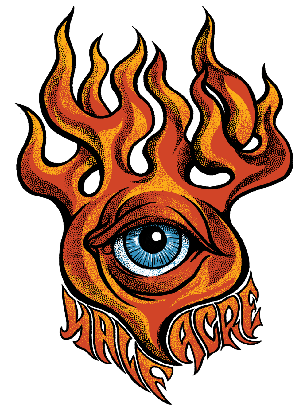 Flaming Eye Shirt
