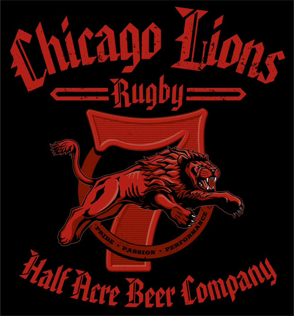 Chicago Lions Sponsorship Shirt