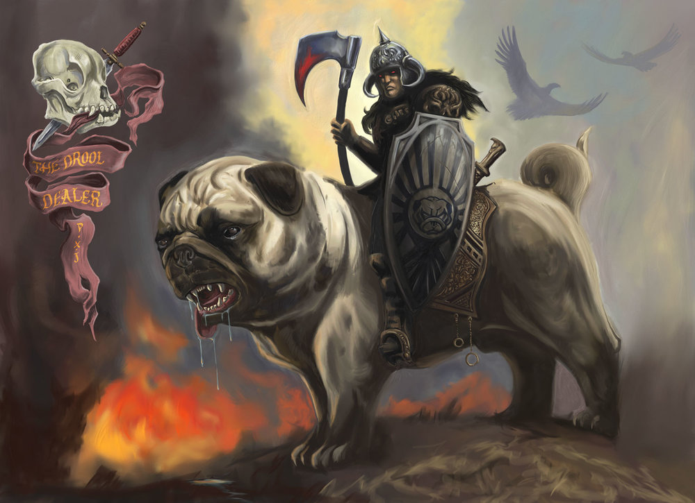 Battlepug: The Drool Dealer