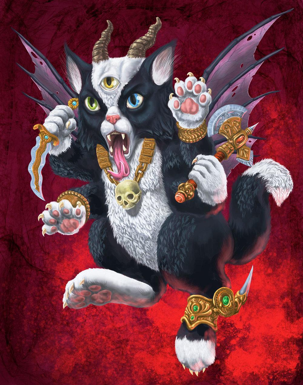 Demon Kitten