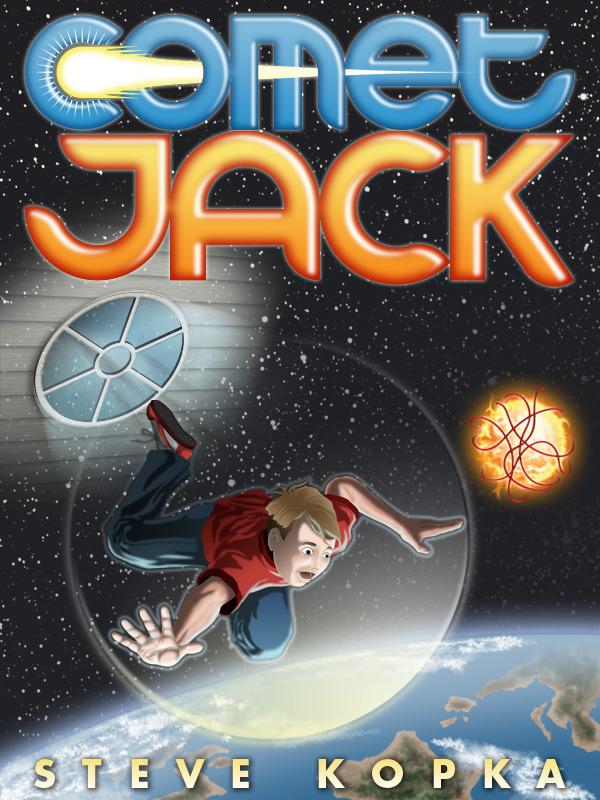 Comet Jack Book Cover & Typography