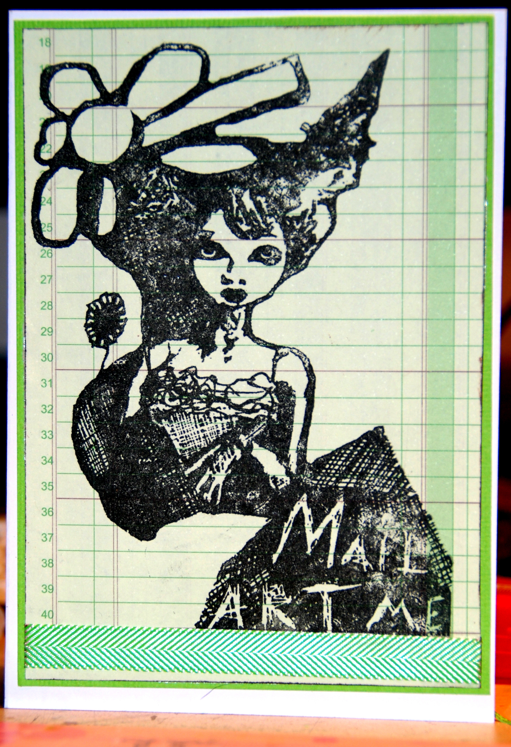 copyright Donna Louise Rodgers  stamp available form the artistic stamper