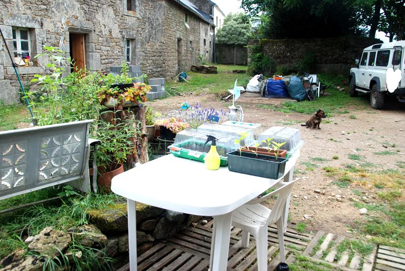garden/building site