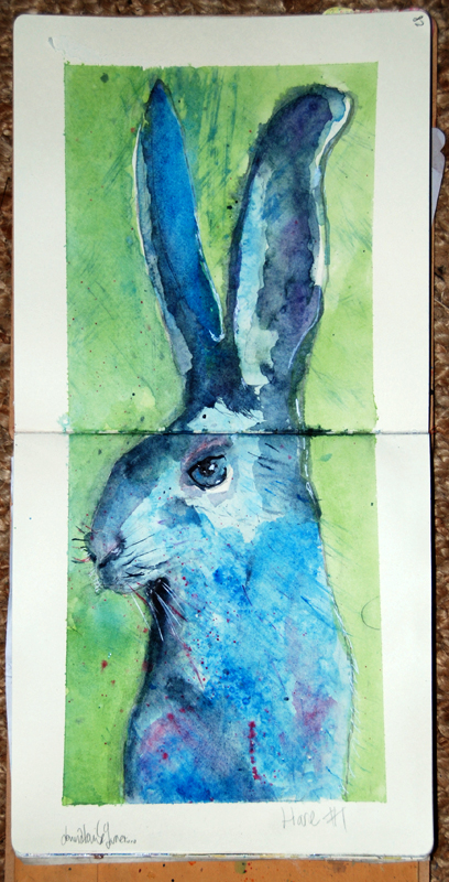 Hare by Donna Louise Garner