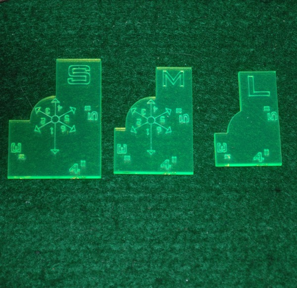 New Products Warmachine Compatible Templates Corsec Engineering