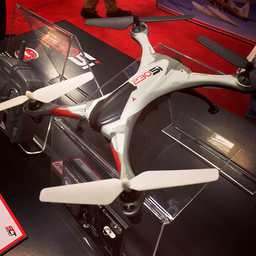 HeliMax announced the new 230Si quadcopter