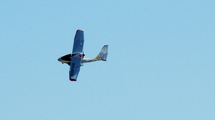 Close up of the Ultra Micro Icon A5 BNF