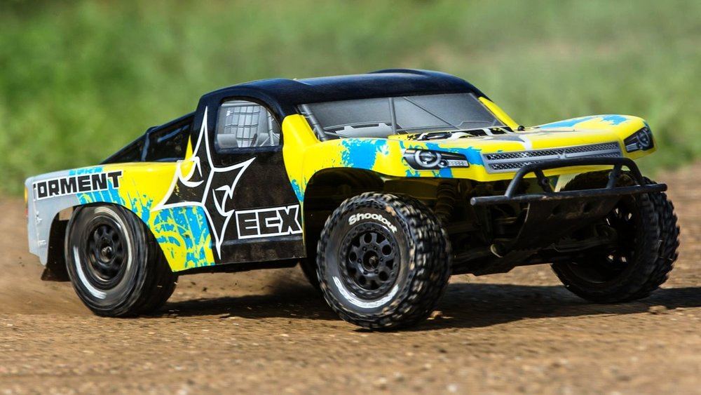 ECX Returns - We've begun to carry some ECX vehicles again, after dropping them back in 2013. They have made some significant improvements since then, and the time was right to bring them back into the Roger's Hobby Center fold.You can currently find the AMP Desert Buggy ($139.99), the Circuit stadium truck ($179.99), and the Torment short course truck ($199.99) on the shelf, and if they do well, more vehicles will be on the way.Additionally, look for ECX hop-ups in the coming weeks as well!