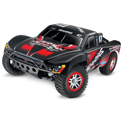 Traxxas Slash 4x4 - Position Last Year: 3rdThe Slash 4x4. Last year, I said it was my favorite vehicle we've ever carried. I still feel that way. The more I sell this truck, the more I like it. The more hop-ups come out for it, the more I like it. And the more people come back, exceited about their new truck, the more I like it.This year saw Traxxas release an LCG version (and later an LCG conversion kit), giving the Slash 4x4 an great boost to awareness. Not only is the Slash 4x4 our top performing by dollars, it's the top selling vehicle by numbers sold as well, making this truck a clear winner.There's nothing to dislike on the Slash 4x4. It's a platform that's seen improvements over the year, and with each adjustment, hop-up part, and tweak, the Slash 4x4 keeps getting better. When it comes to a truck that continues to offer value years after purchase, the Slash 4x4 delivers. And that's why it's the top product on our countdown.