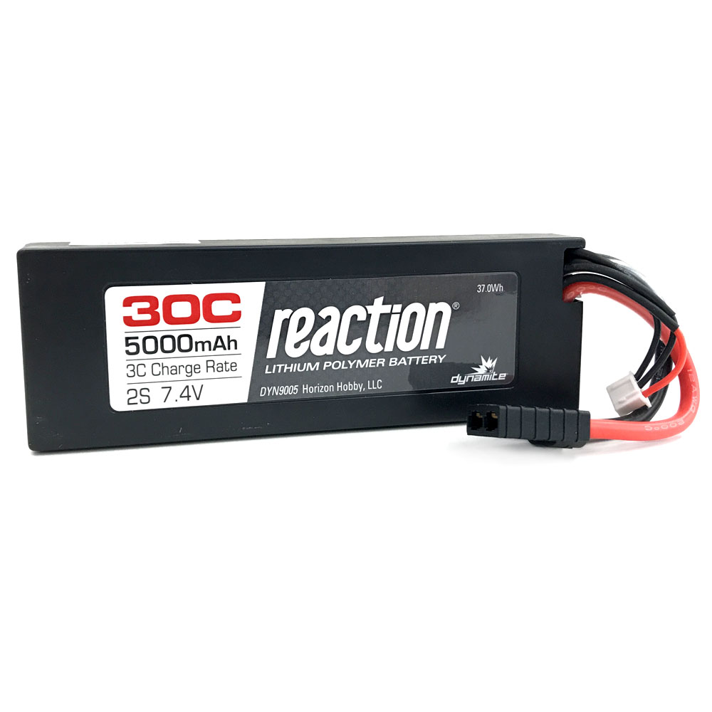 2S 5000mAh 30C LiPo - Position Last Year: N/A The 30C version of our 5000mAh 2S LiPo batteries are making their first appearance on our list, though we've been selling them for nearly four years. That's a testament to how dominate LiPo batteries have become since then, though if you glance further up the list, there's another, bigger, example of the popularity LiPos now enjoy. Still, it's an impressive feat to reach eighth when it hasn't placed at all before now.