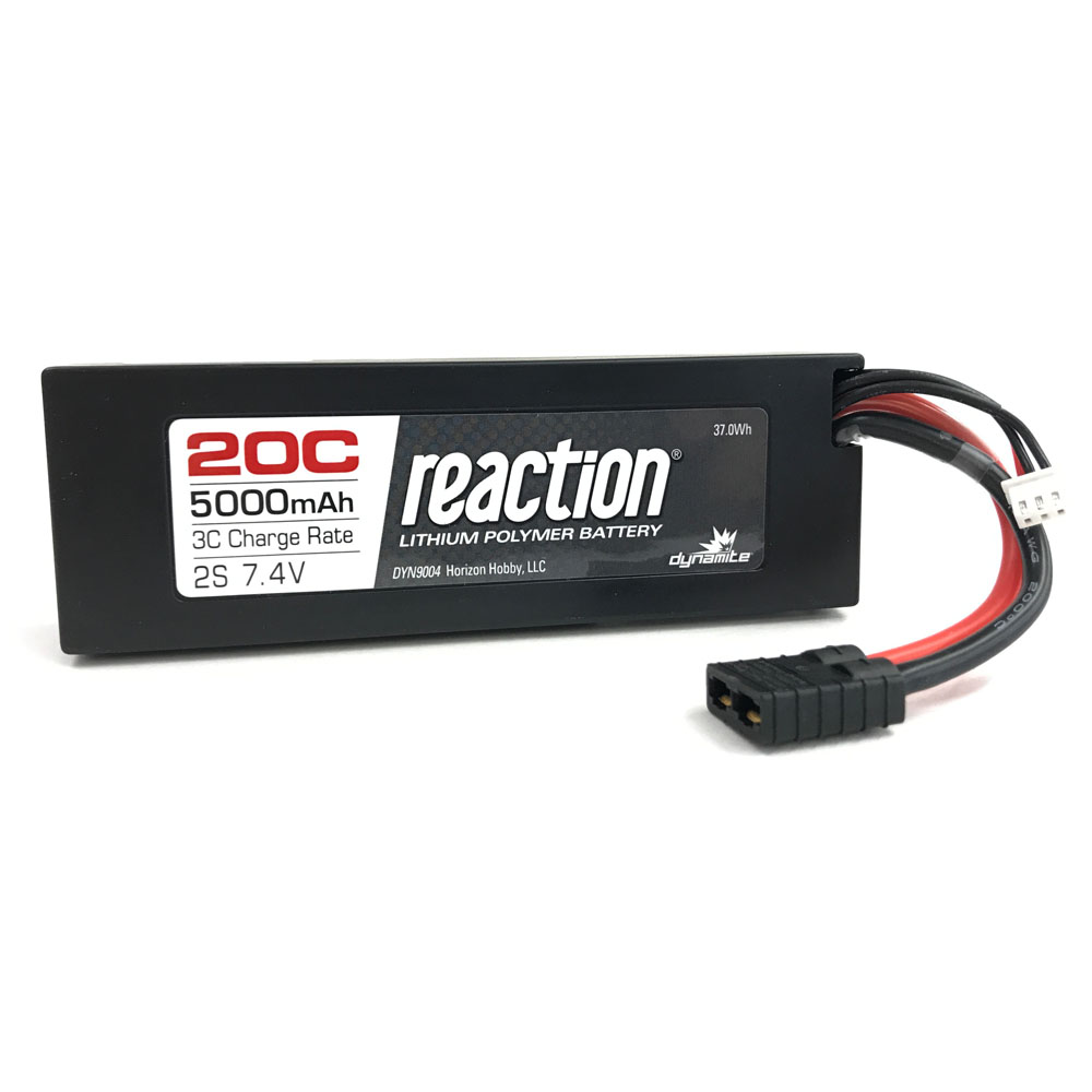 2S 5000mAh 20C LiPo - Position Last Year: N/A What a jump for these batteries! From being edged out in 11th place last year to 2nd overall in 2017, it's been a good year for LiPo batteries. You'll be seeing more of these batteries as the years go on, and LiPo batteries become not just dominant, but the standard battery of radio control — a future not all that far away.