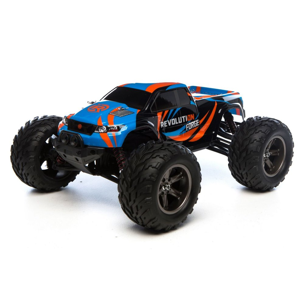 Revolution Forge 1:12 MT RTR - Despite a late-year launch, the Forge monster truck landed in a sold 18th place on our list, which is impressive because our list favors items we've had all year, due to the cumulative way we calculate the totals. For the Forge to make it even onto the list, let alone that high, is pretty cool for this new brand and vehicle.