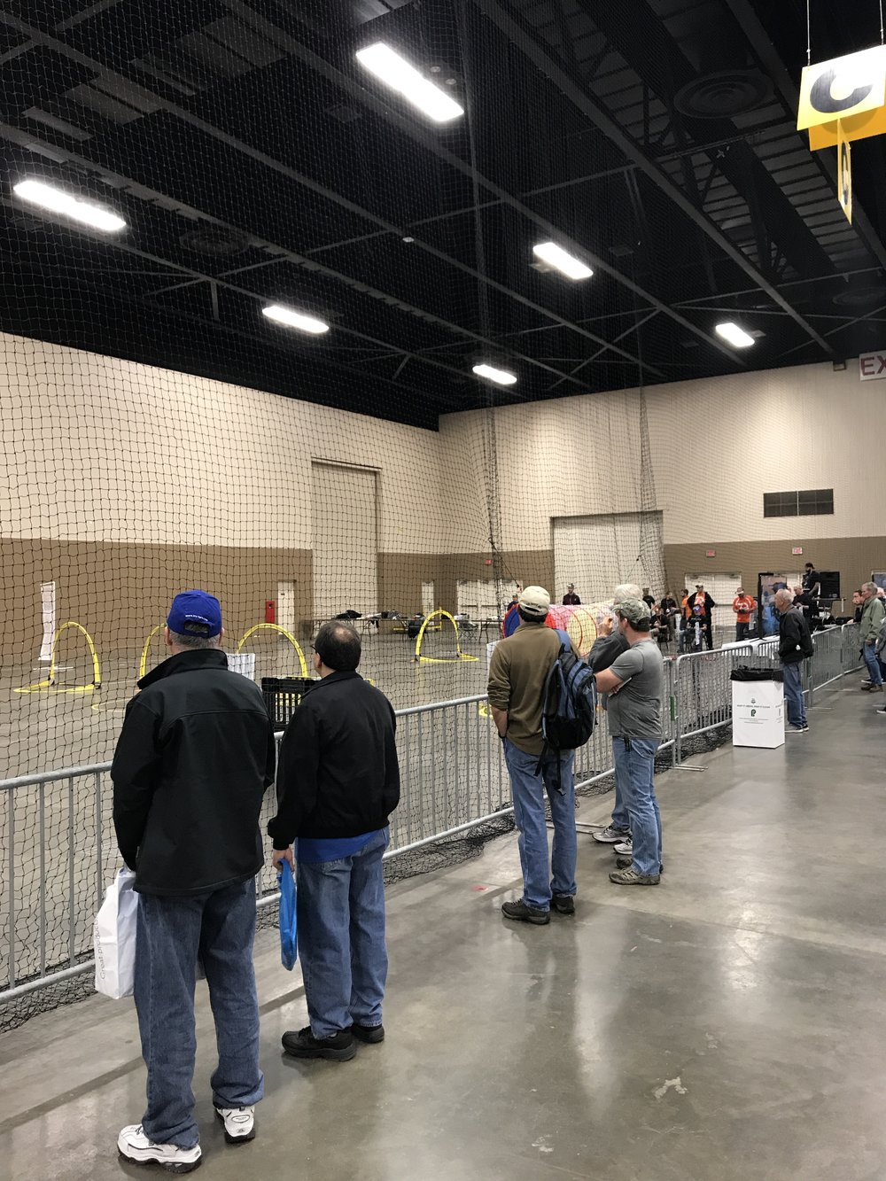 The Drone Racing Area didn't attract many people.