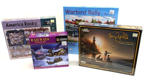 40% Off Jigsaw Puzzles - Take 40% off all regularly priced jigsaw puzzles, and give someone the gift of quality time spent with loved ones around the dining room table putting the puzzle together! A great way to spend Christmas day with family.