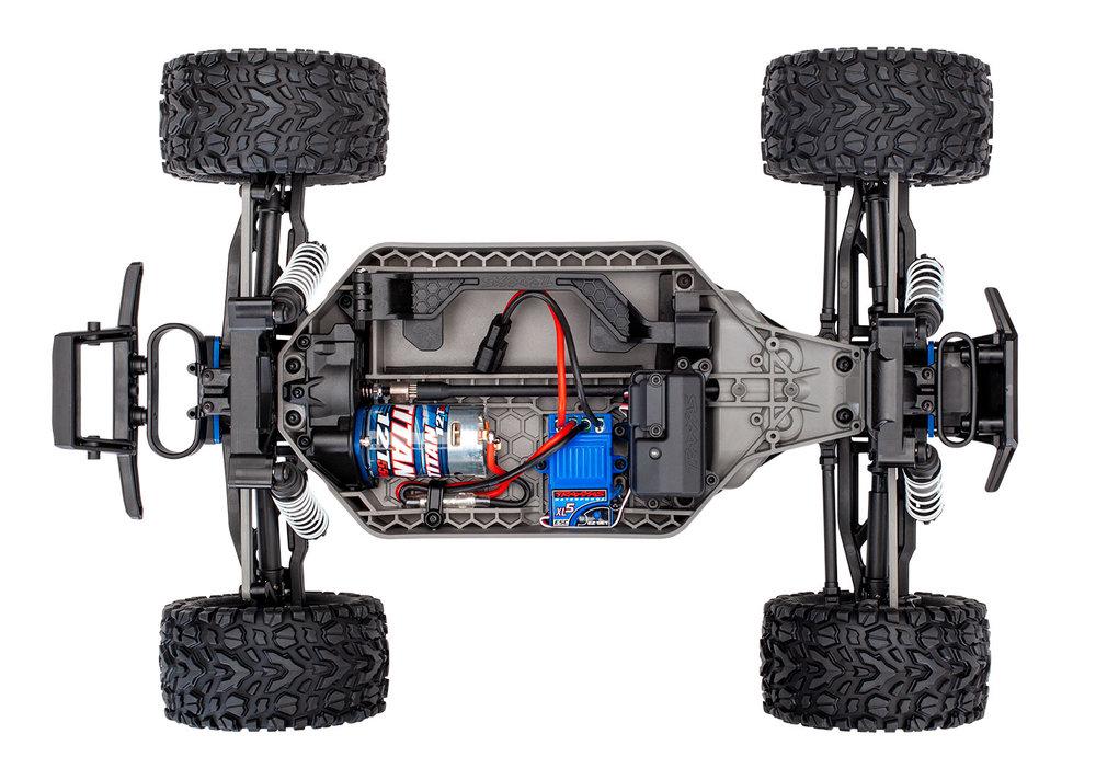 67064-4-Rustler-4x4-Brushed-CHASSIS-overhead.jpg