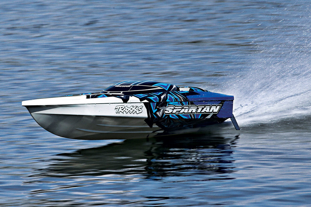 Traxxas' Spartan is one of only three boats Traxxas makes.