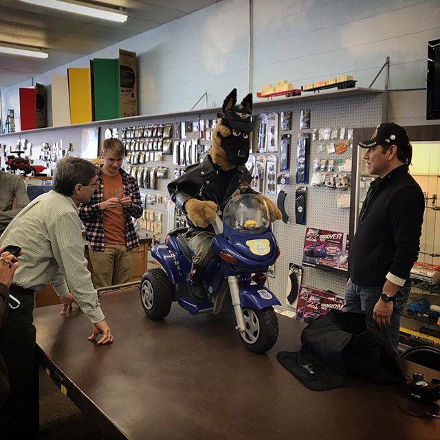 Assisting Saginaw County Animal Control with their mascot! #saginawcountyanimalcontrol #saginawcounty #saginaw