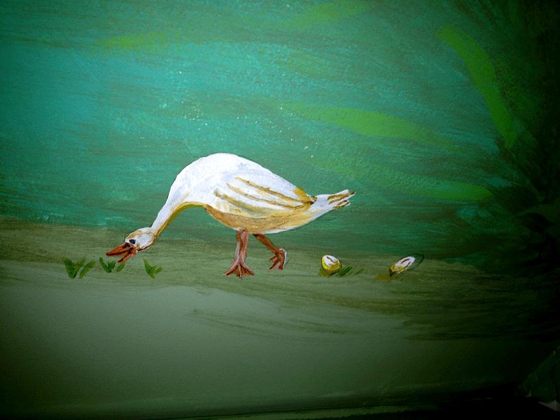 Storybook Goose