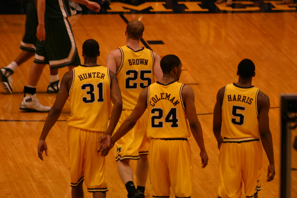 From January 25, 2006, Michigan State at Michigan.  We've come a long way.
