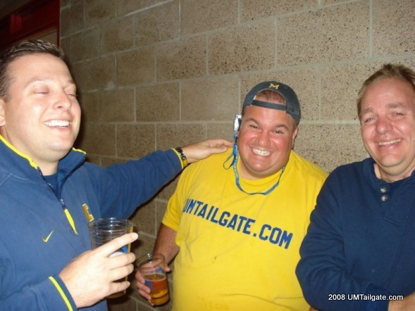 November 8, 2008.  Threet was injured and Sheridan started.  It was the second worst season of all time and we had no chance.  In the end, Michigan won 29-6 and it was one of the greatest road trips of all time.  Why?  They served beer at the dome.