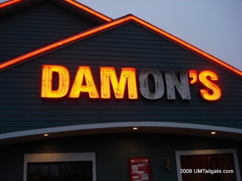 Damon's was decidedly anti-Michigan hoops.  We not ON...or ON not ON....or just not ON.  Either way, call an electrician fergodsakes.