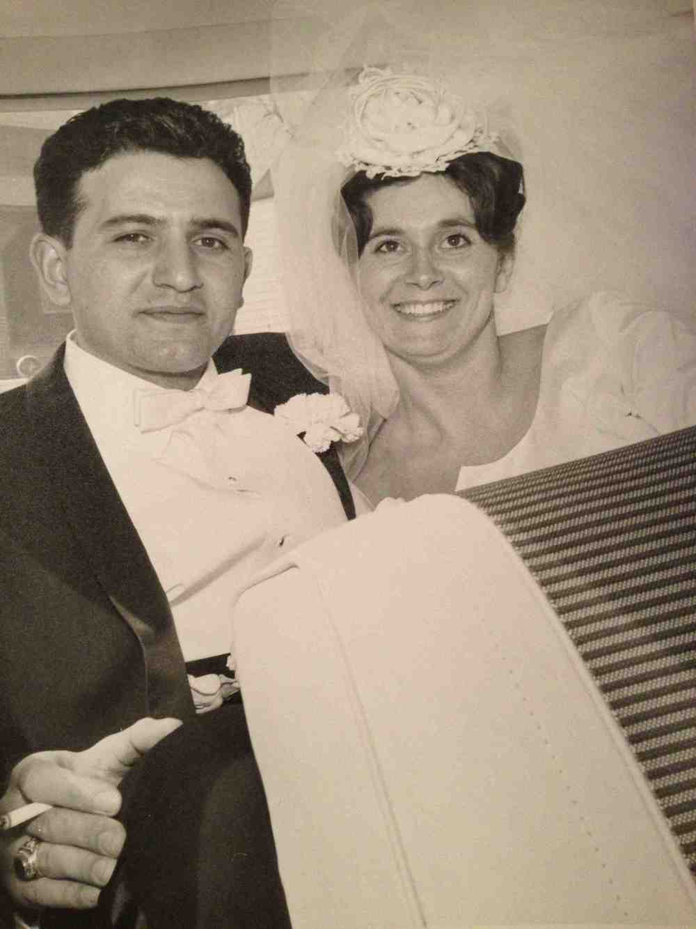 April 24, 1965:  My parents got married.  I'll be doing the same this weekend.  Wish me luck...and GO BLUE!
