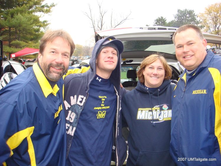 November 17, 2007. The crew that seems to always find us did exactly that before Michigan fell to Ohio State 14-3.
