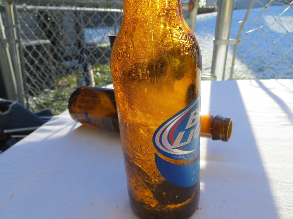 11/23/13 Michigan 21 - Iowa 24  : So cold the beer froze in seconds in the open air.