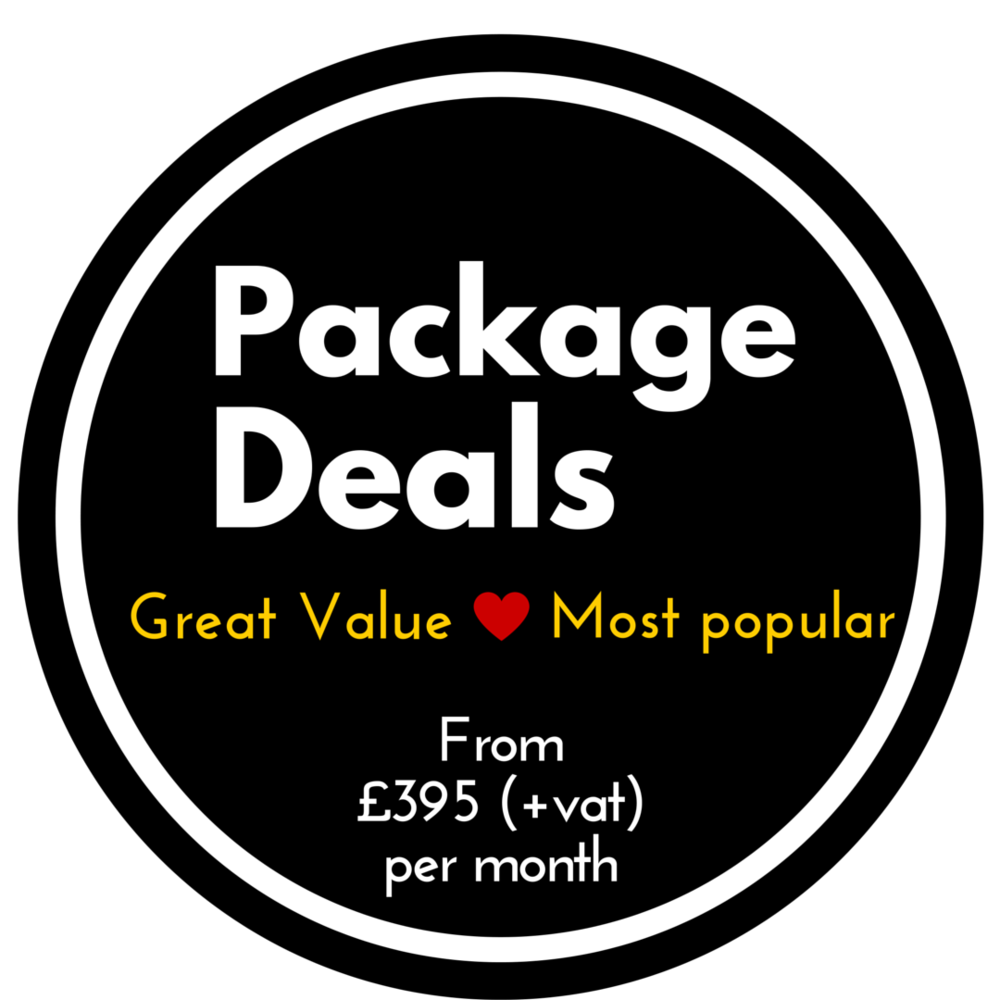 Great value package deals for your marketing