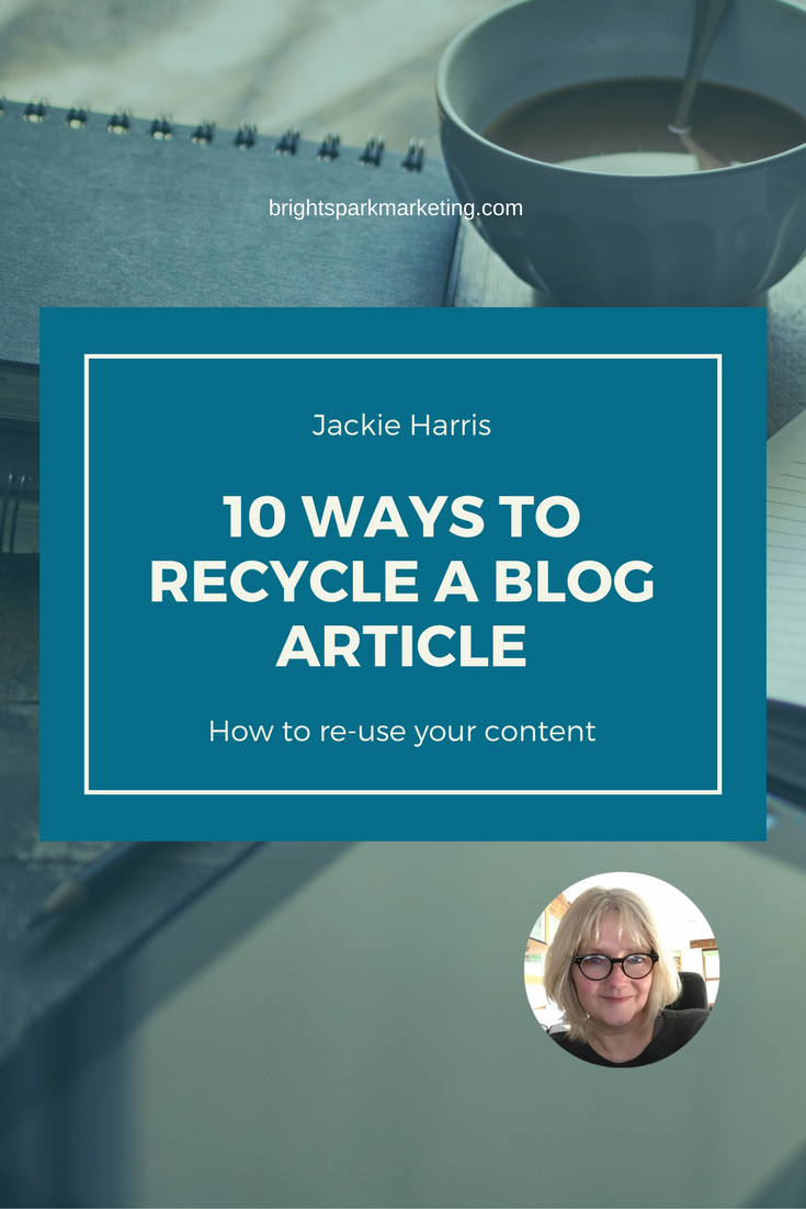 Recycle your blog posts