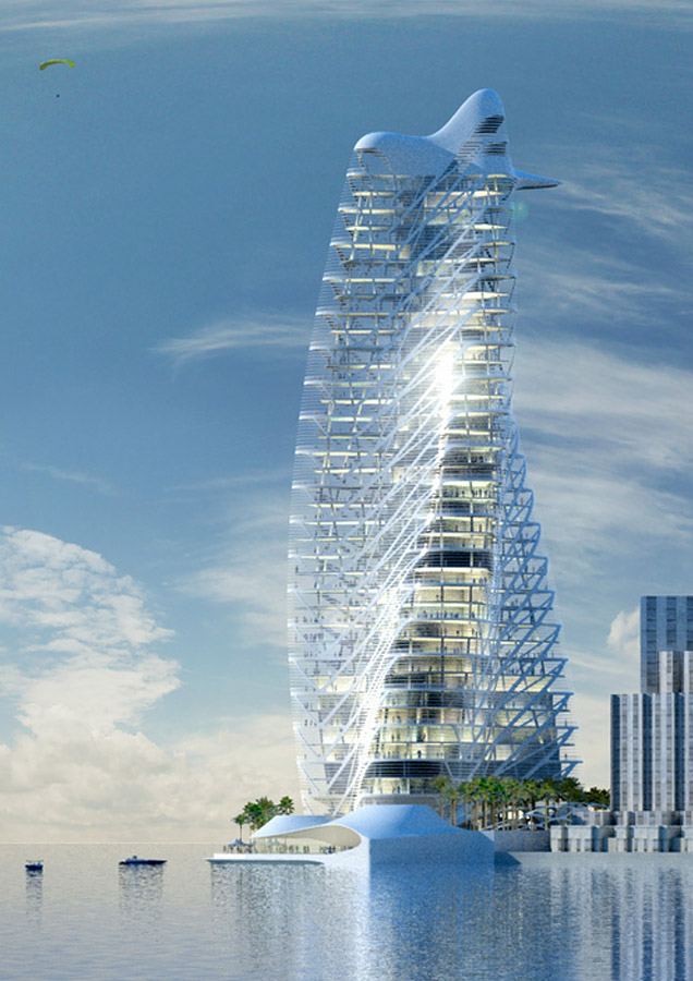 trata Tower » Perspective Rendering