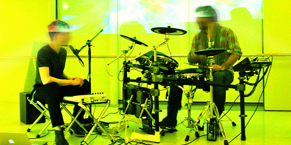 Bureau V performing live at the Guggenheim