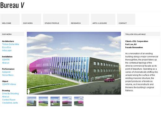 Bureau V Website