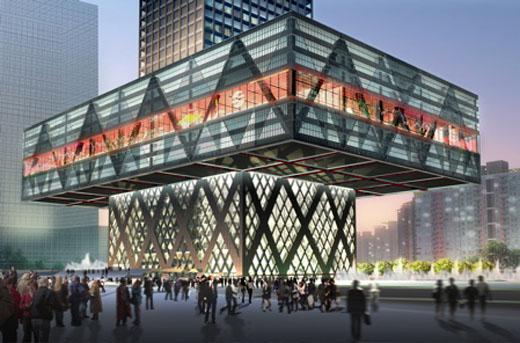 Shenzhen Stock Exchange Exterior