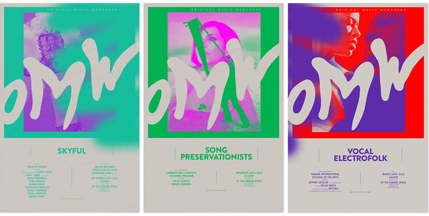 OMW Poster Series by Mogollon