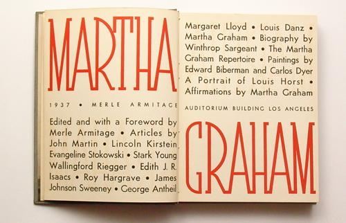 Martha Graham Book Cover