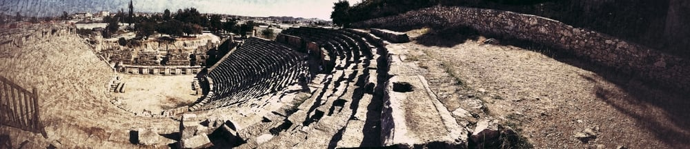 Hiking in the mountains, I am reminded of how minute I am in the midst of creation. But sitting on these Lycian ruins, reflection shifts from being a speck in space to being a blip in time. God has no beginning or end. His love endures forever.