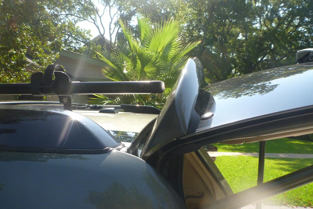 Toyota Highlander hatch to hit Yakima Frontloader