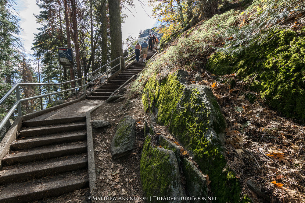 Ascending Moro Rock - Nikon D7100, Tokina 12-24