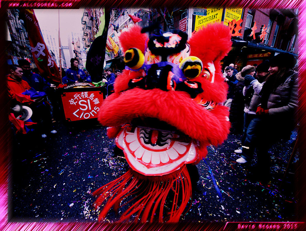 過年。紐約唐人街2007年 / Chinese New Year.  Chinatown, New York 2007
