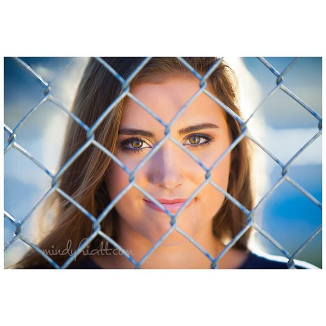 Those eyes!! #strongisbeautiful @veronica.olson #softball #softballseniors