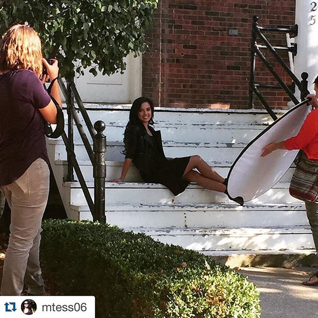 #Repost @mtess06 with @repostapp. ・・・ Kaitlyn's senior photo session with @mindyhiattphoto was so much fun! Can't wait to see all the awesome photos from this gorgeous evening.